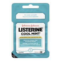 LISTERINE® COOL MINT™ Extra Wide Waxed Dental Floss