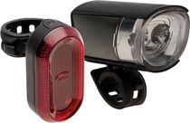 Bell Sports Lumina 750 Hi-lumen Head Light and Tail Light Set