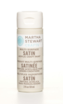 Satinèe multi-surface de Martha Stewart - mastic