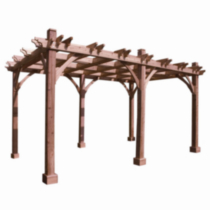 BZ1016 Cedar Breeze Pergola Kit