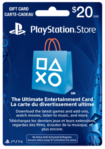 PlayStation®Network Card $20