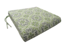 Deluxe Seat Cushion, Fernhill Medallion