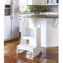 Guidecraft High Rise Step Stool - White