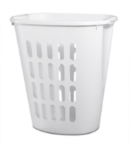 Sterilite Open Laundry Hamper (White)