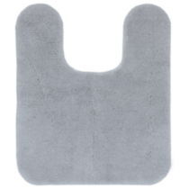 Mainstays Bath Mat - Contour light grey