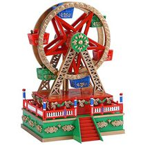 Mr. Christmas Mini Carnival Ferris Wheel Music Box