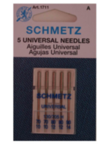 Schmetz Universal Machine Needle, assorted sizes