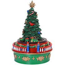 Mr. Christmas Mini Carnival Miniature Christmas Tree Musical Box