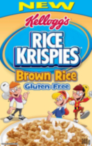 Kellogg Rice Krispies* Brown Rice Gluten Free Cereal