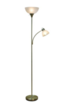 Mother Daughter Torchiere Floor Lamp