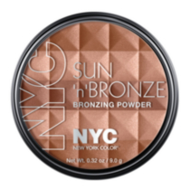 NYC New York Color Sun N' Bronze Bronzing Powder Fire Island Tan