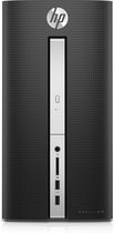 HP Pavilion Desktop with Intel® Pentium® J3710 1.6 GHz Processor