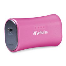 Verbatim 2200mAh Portable Power Pack - Pink