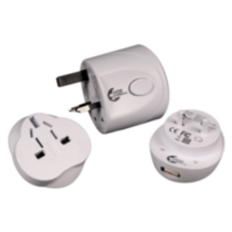 Air Canada Dual Wattage Converter Adaptor Kit Walmart Ca