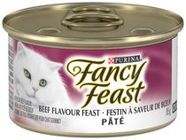 Purina Fancy Feast Beef Flavour Feast Pate Cat Food
