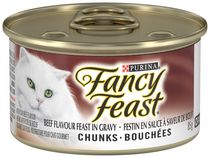 Purina Fancy Feast Chunks Beef Flavour™ Cat Food