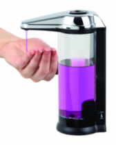 Touchless Dispenser Black/Chrome