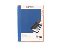Griffin Turnfolio Case for iPad Air - Digital Blue/Gray