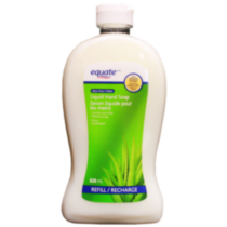 Equate Aloe Vera Liquid Hand Soap Refill