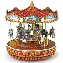 Mr. Christmas Triple Decker Musical Carousel