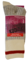 Kodiak Ladies 3pair work sock