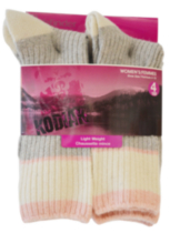 Kodiak Ladies 4pair work sock