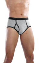 Men's Ringer Brief - 5 Pack Large