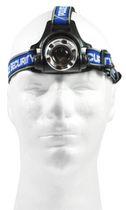 Police Security Elite Blackout Headlamp