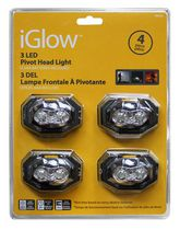 iGlow 4 pack LED Headlamp