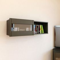 Nexera Nuance Wall Storage Unit with Sliding Door