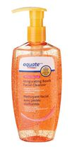 equate Invigorating Beads facial Cleanser