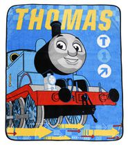 Thomas & Friends Jeté en super peluche pour lit une place - multicoloré