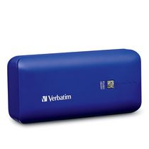 Verbatim 4400mAh Portable Power Pack in Cobalt Blue