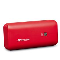 Verbatim 4400mAh Portable Power Pack in Red