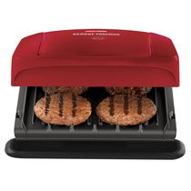 George Foreman 4 Serving Grill with Removable Plates