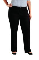 Genuine Dickies Women's Plus Size Relaxed Fit Straight Leg Twill Pant 22R
