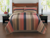 HomeTrends Quilt Set – Retro Chic King