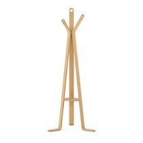 CorLiving LCQ-868-H Aquios Bentwood Coat Rack in Natural Wood Finish