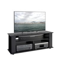 CorLiving Bakersfield Ravenwood Black TV Stand, for TV's up to 55""