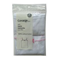 George Girls' Camis, 2 Pack 10