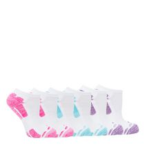 Athletic Works Ladies' Low Cut Socks, Pack of 6 Multi