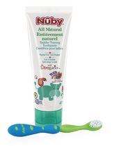 Nûby Citroganix Toddler Training Blue/Green Toothpaste & Toothbrush