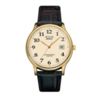 Acqua Men Analogue Brown Strap