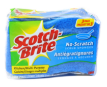 Scotch-Brite™No Scratch Scrub Sponge 3 pack