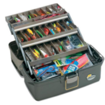 Plano Guide Series 6134 Three Tray Tackle Box