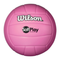 Wilson Softplay Volleyball Pink