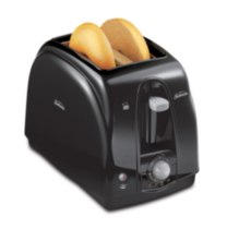 Sunbeam 2 Slice Extra-Wide Slot Toaster Black