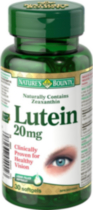 Nature's Bounty Lutein 200mg 30 Capsules