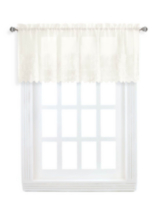 Lisa embroidered valance