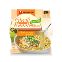 Nongshim Savory Chicken Flavoured Bowl Noodle Soup